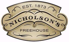 Bar Staff -Nicholsons Falcon