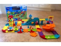 VTECH: Toot Toot Bundle: Train Station, Police Station (NEW), Airport, 7x Vehicles