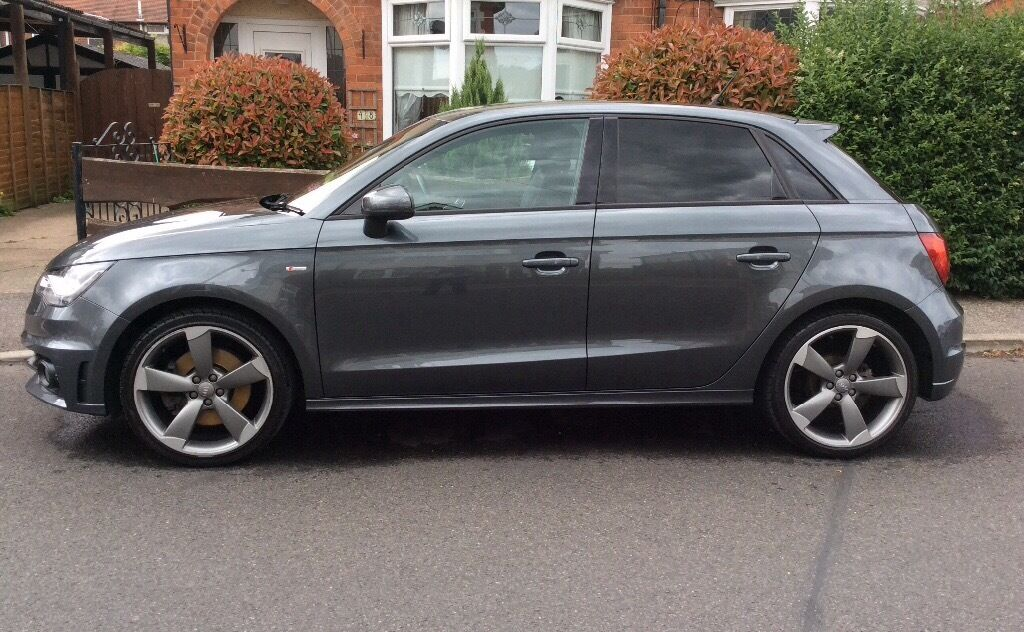 audi a1 2 0 black edition pearlescent daytona grey 13 plate in hull east yorkshire gumtree. Black Bedroom Furniture Sets. Home Design Ideas