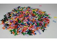 Clearnce Bundle - Thousands Assorted 3mm Craft Bows