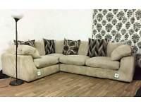 New scs jumbo cord panama corner sofa *free delivery*