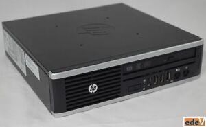 HP COMPAQ ELITE 8300 USDT USFF Quad Core i5-3470S vPro 8GB DVD-RW 320GB HDD W7P