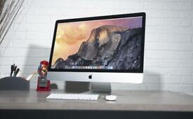 "Apple iMac 27"" Retina 5K - Intel Core i5 - 1TB memory + original Apple mouse & keyboard"