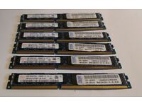 32GB 8x4GB 10600R PC3L server and workstation memory low profile