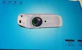 LED HD Projector Black
