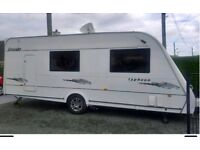 2007 Elddis 4 berth caravan for sale