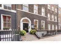 4 to 12 Desk Office Suites | Own Name Plate | Garden | No Bills | West End WC1B