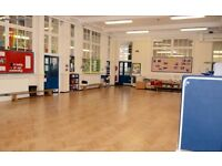 Small Hall Hire at Southfield Primary School - Contact us for pricing PER HOUR!