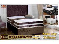 Flat Pack Divan Bed CT
