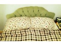DOUBLE mattress in great condition, very comfortable + double divan and headboard