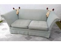 Sofa – Laura Ashley 2/3 seater in duck egg blue