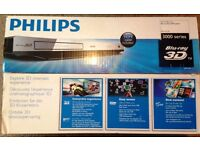 Philips BDP3282 3000 Series Blu-Ray Disc/DVD player - 3D playback, DivX Plus HD - New with Box!!!