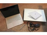 """Microsoft Surface Book 13.5"""" Laptop/Tablet 8Gb RAM Intel Core i5 with Pen + Case"""