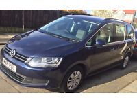 VW Sharan 2.0 TDI BlueMotion Tech SE MPV Full service History and MOT