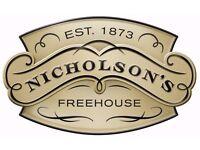 Nicholsons Walrus & Carpenter - Bar Staff