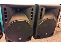 Powered PA Speakers Monitors 600w