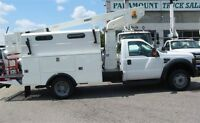 2008 Ford F-450 service/utility bucket truck