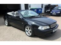 Volvo C70 2.4 Auto CONVERTIBLE, low miles 83000 from new , 12 months mot , just serviced, VERY CLEAN
