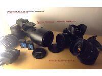 Canon EOS 6D + lenses + extras