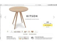 "Brand New, Kitson Dining Table from ""MADE"""