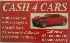 Wanted any cars cash paid.
