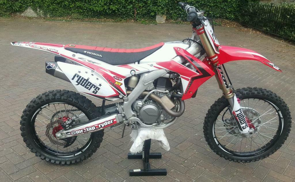 honda crf 450 2015 world edition like new in bermondsey london gumtree. Black Bedroom Furniture Sets. Home Design Ideas