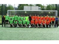 JOIN 11 ASIDE FOOTBALL TEAM IN LONDON, FIND SATURDAY FOOTBALL TEAM, JOIN SUNDAY FOOTBALL TEAM OG165