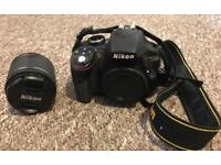 Nikon D3300 Lens and wireless