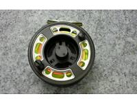 Fly fishing fly reel Greys GRXi + with line