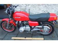1980 SUZUKI GS1000 - RUNNING WELL - EXCELLENT CONDITION - EXTRAS INCLUDED
