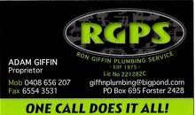 Ron Giffin Plumbing Forster Great Lakes Area Preview