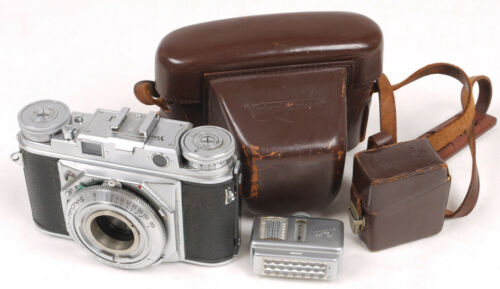 Voigtlander Prominent Rangefinder Body w/Accessory Shoe - Nice/Works Well