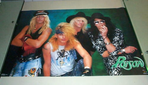 POISON  Group 1988 Vintage Poster