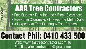 AAA Tree Contractors Armadale Armadale Area Preview