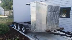 Car Trailer tri axel beaver tail Longford Wellington Area Preview
