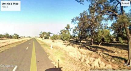 1 acre property in Gilgooma for sale - unfenced and undeveleoped