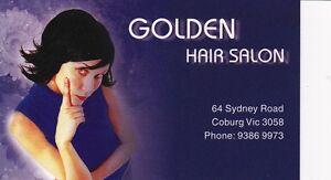 Golden Hair Salon, Coburg Coburg Moreland Area Preview