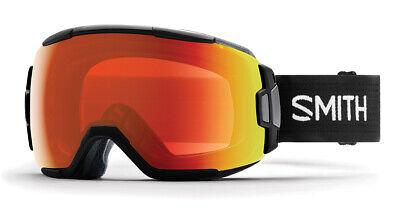 SMITH OPTICS VICE Ski- Snowboardbrille BLACK - ChromaPOP Red Mirror Everday NEU