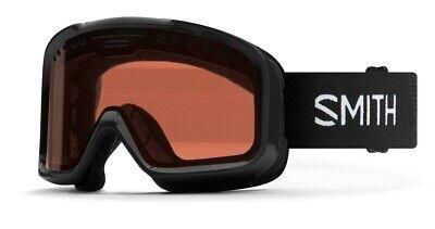 Smith Project Ski Snow Goggles Black Frame, RC36 Lens New 2020