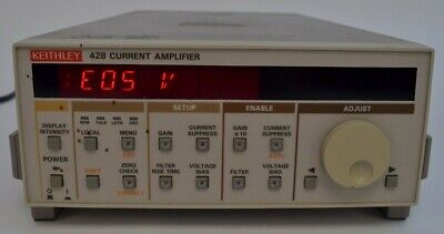 Keithley 428-man Manual Current Amplifier Amp