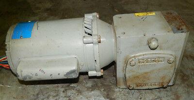 Boston Gear Fr-g 5kc37nn125 Motor 12.5hp 1725rpm With Gear Reducer Ratio 361