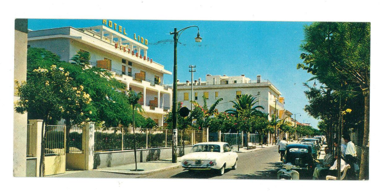 FRANCAVILLA AL MARE VIALE NETTUNO HOTEL LIDO CHIETI ABRUZZO VIAGGIATA 1964