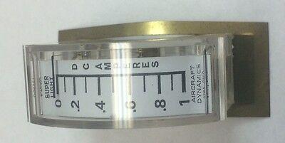 Emico 1 Dc Amp Analog Amp Meter Model 13 Edge Meter