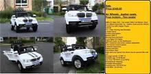 Big Collection of kids ride on Cars ,24 Volt ,12 volt .6 Volt Greenacre Bankstown Area Preview