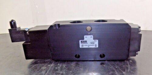 Parker B8 Series Pneumatic Solenoid Valve Anodized Aluminum