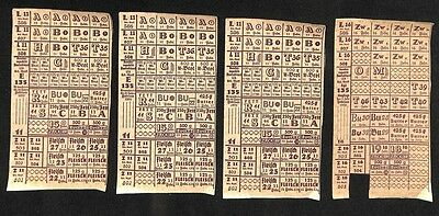 Lebensmittelkarten 1950 LEA Nrh. Westf.  #H539