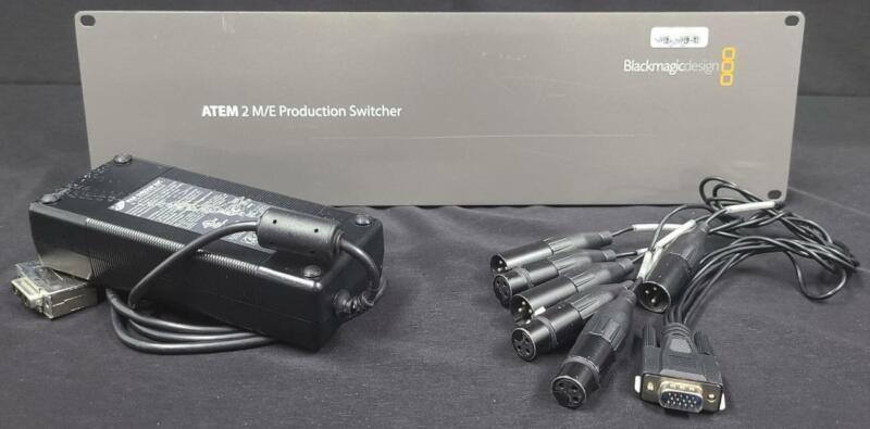 DEMO Blackmagic ATEM 2 M/E 3RU 16-Input HD Production Switcher, Audio Breakout