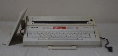 Brother Ax-250 Electronic Typewriter Works
