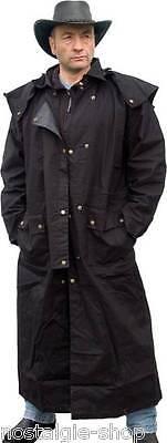 Westernmantel Regendicht Country Reitermantel Wachs Mantel Outdoor Jacket NEU!