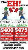 The EH Team SNOW CLEARING - DRIVEWAY'S/WALKWAY'S